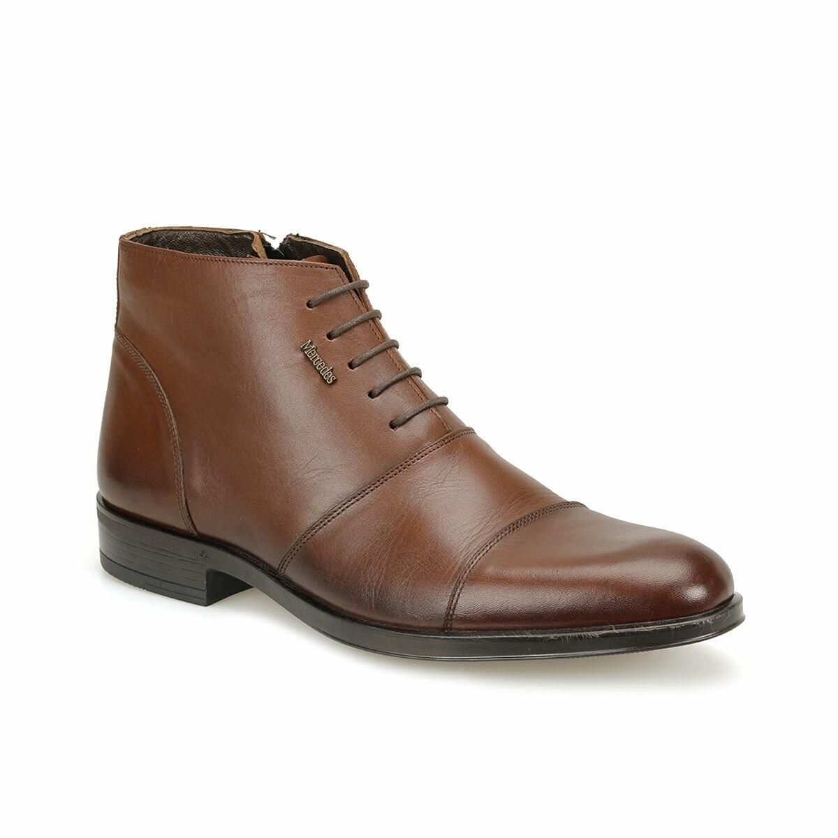 FLO NELSON Brown Men Boots MERCEDES