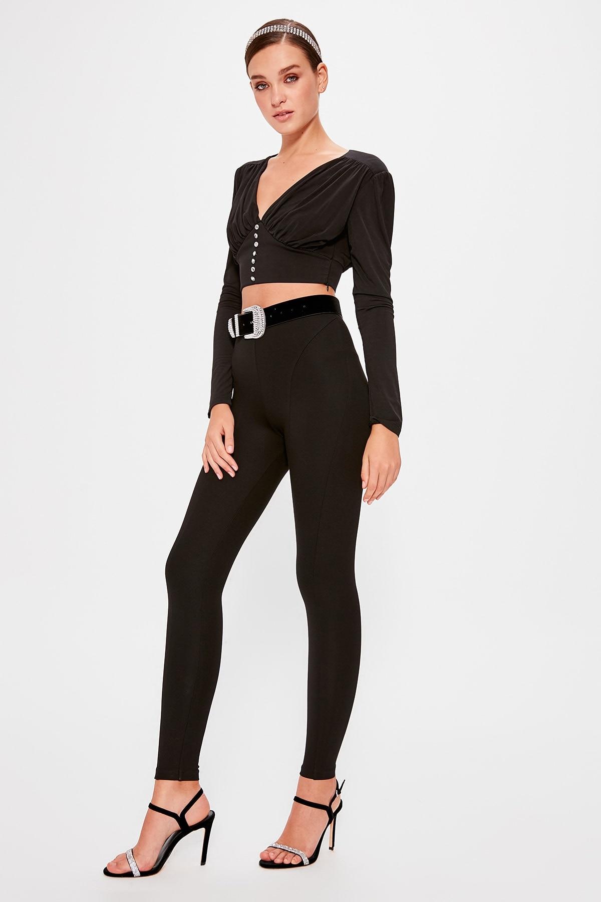 A Size İncelin Trendyol Pants Leggings TPRAW20PL0045