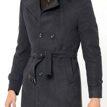 PLT8320 Пальто DEWBERRY-темно-синий