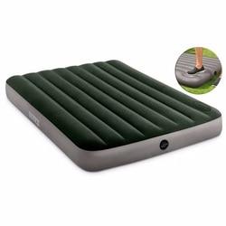Кровать надувная (матрас) DOWNY BED (FIBER-TECH) со встроенным ножным насосом. Разные размеры