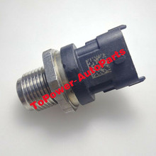 New OEM Fuel Rail Pressure Sensor 0281002971/98090186/2223/FPS11/213-3914 For Chevrolett Silverado 2500/3500HD GMCC Sierra 6.6L