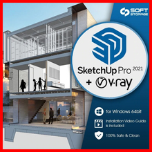 SketchUp Pro 2021✅+ Vray próximo 5-✅Vida do Windows Installer✅