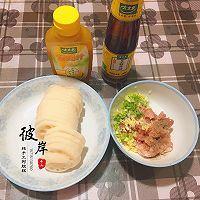 香酥藕饼#太太乐鲜鸡汁芝麻香油#的做法图解1