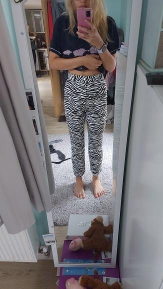 Zebra Print Pants photo review