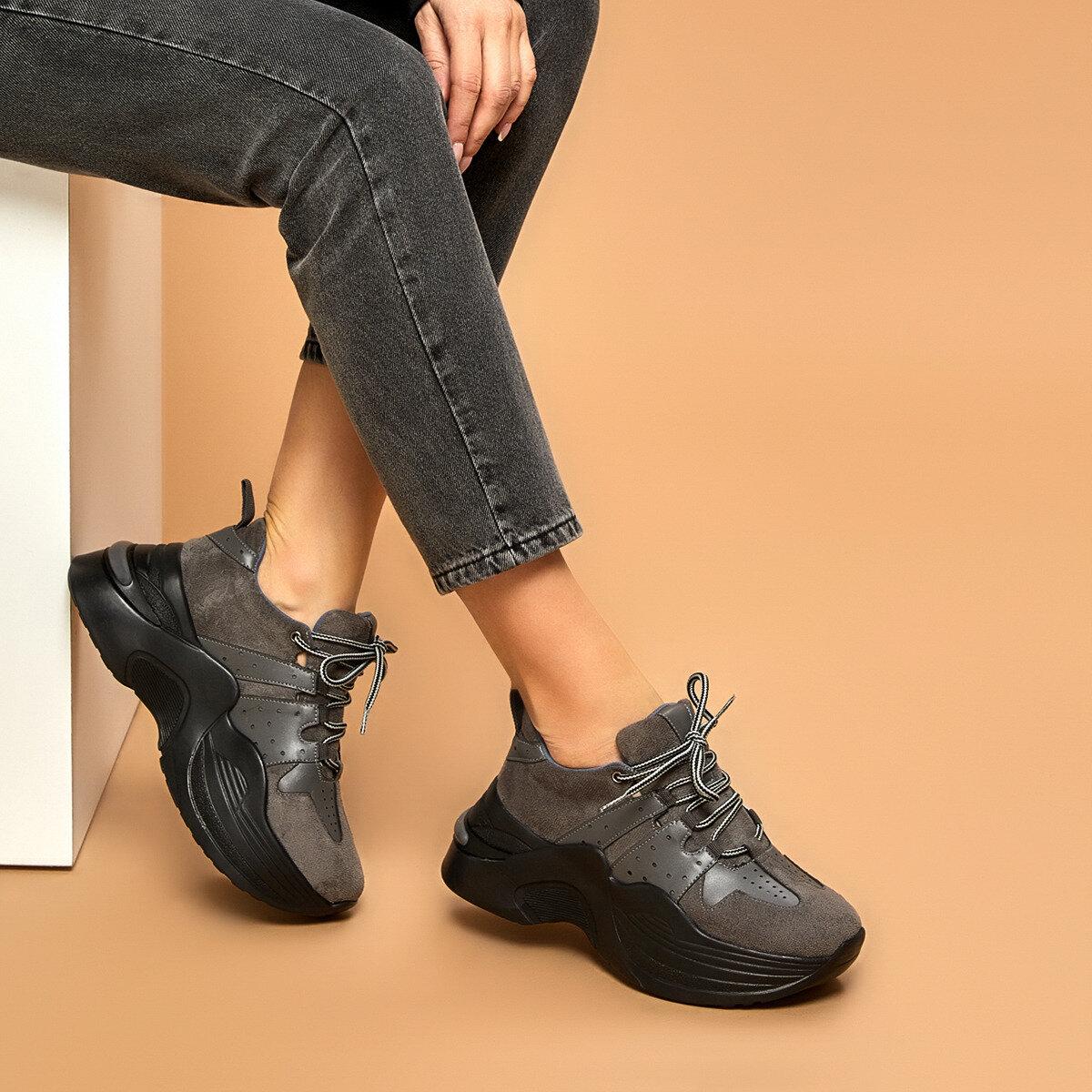 FLO ARKİN Gray Women 'S Sneaker BUTIGO