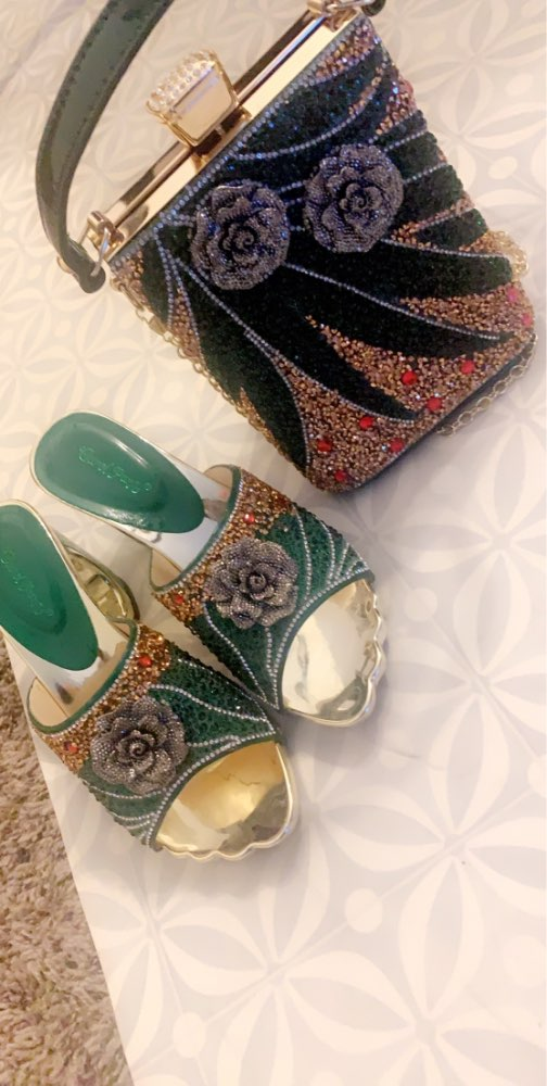 Fashionable Italian Shoes and Bag Sets photo review
