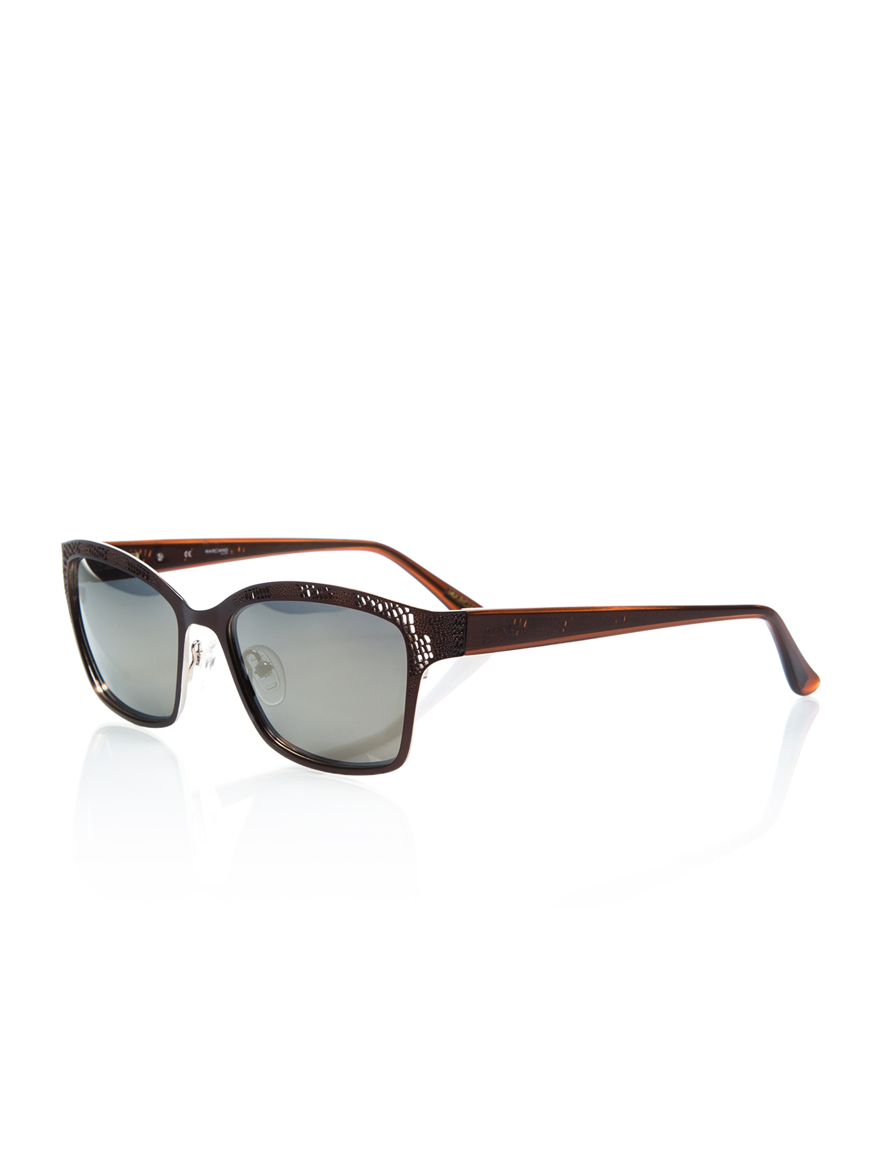 Women's sunglasses gu 0274 049 metal Brown unspecified 53-guess