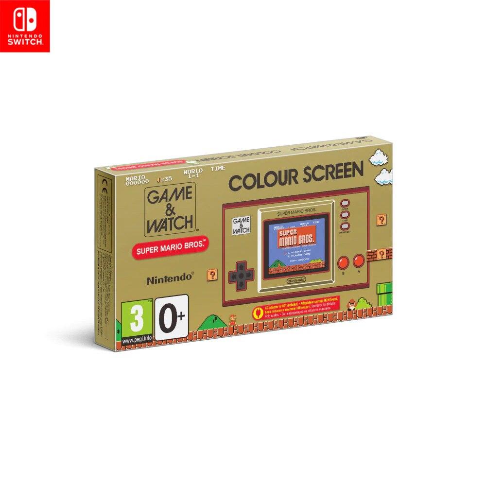 Игровая приставка Nintendo Game & Watch Super Mario Bros.