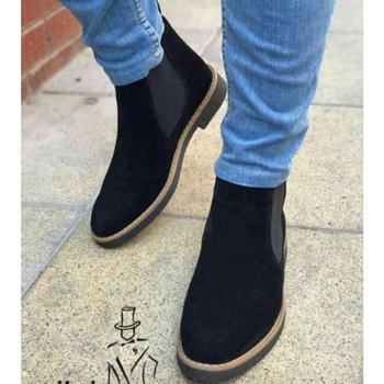 Czarne męskie buty I męskie buty I męskie buty I męskie buty I męskie buty I męskie buty do sukienki I męskie zimowe buty I buty do sukienki dla mężczyzn tanie i dobre opinie Podstawowe TR (pochodzenie) Dla dorosłych