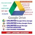 Gsuite Google Drive неограниченный срок службы, новый аккаунт, электронная почта, быстрая доставка по всему миру