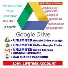 Gsuite Google Drive stockage illimité durée de vie nouveau compte Email dans le monde entier expédition rapide