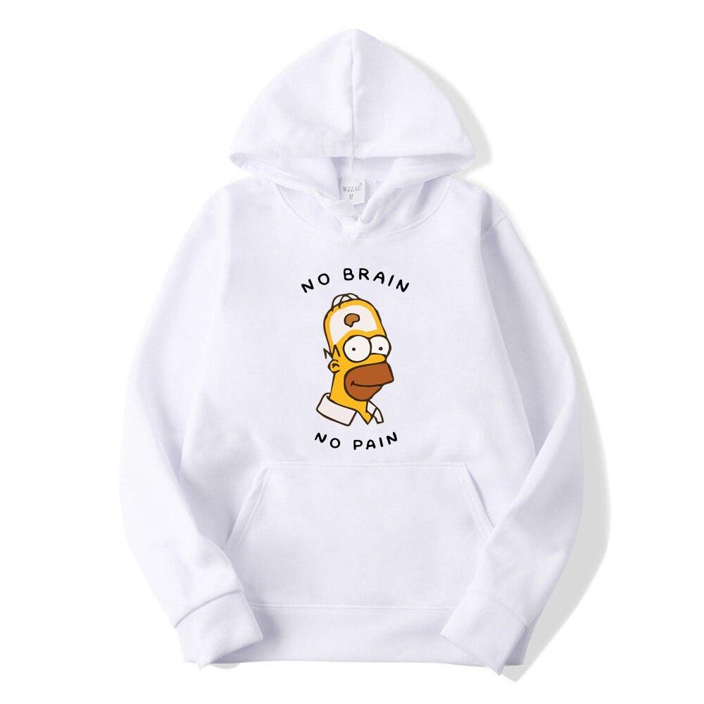 New Brand simpsons Hoodies men high quality Long sleeves Casual men Sweatshirt Hoodies Tracksuits male