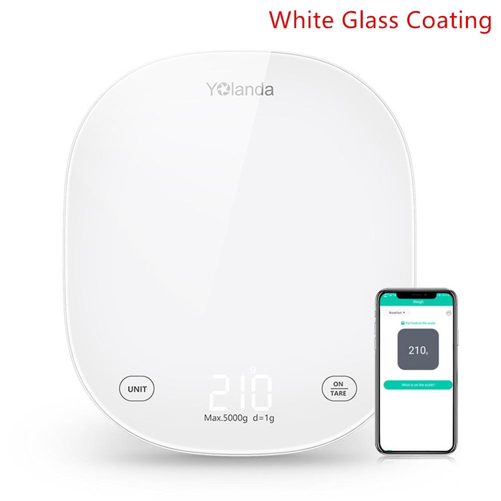 White Glass LED
