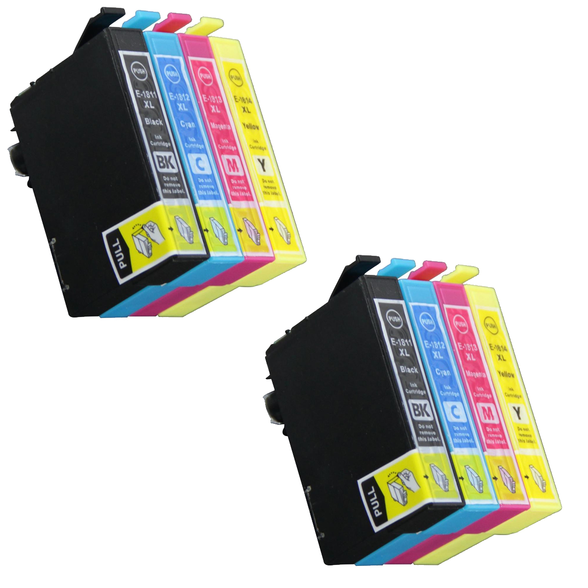8 Ink Cartriges T18XL Model T 18XL T1811 T1812 T1813 T1814 Compatible With Epson Printers XP302 XP305 XP402 XP405