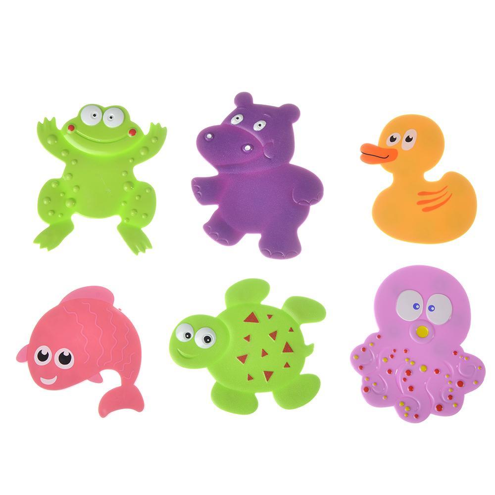 6 mini tapis pour salle de bain tapis anti-dérapant pour enfants tapis animal