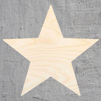 スターシルエットレーザーカットアウトウッド形状クラフト供給未完成カットアートプロジェクトクラフト装飾ギフトデコパージュ Ornamente