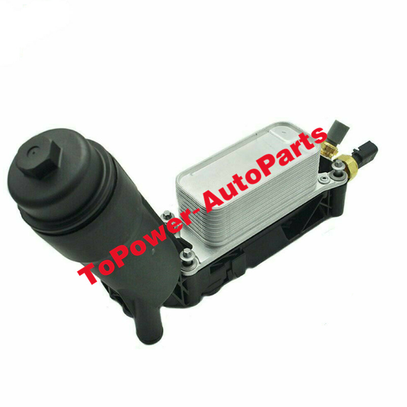 Engine Oil Filter Housing Adaptor Assembly <font><b>5184294AE</b></font> 5184294AD 5184294AC 68057473AB for 14-17 Chryslerr 200 Dodgee Jeepp Ramm image