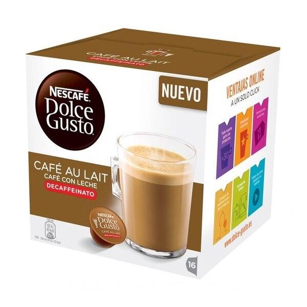 Coffee Capsules Nescafé Dolce Gusto 97934 Café Au Lait (16 Uds) Decaffeinated