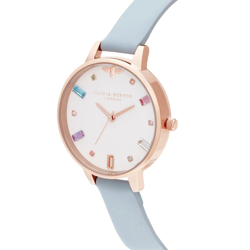 Наручные часы Olivia Burton OB16RB12 женские кварцевые на кожаном ремешке