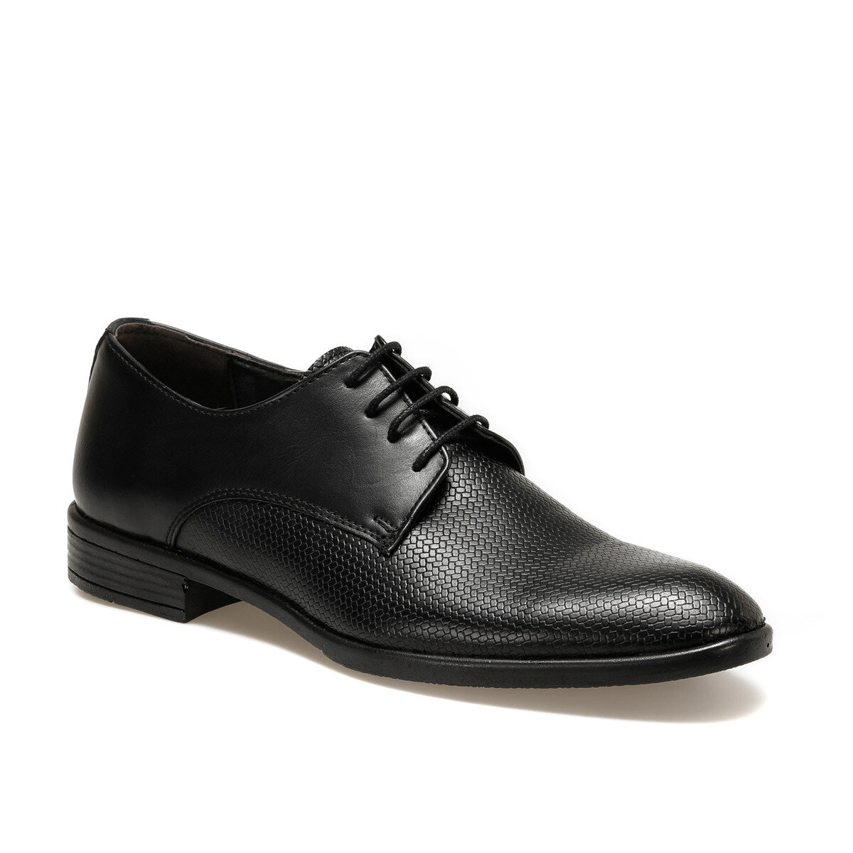 FLO 113-2 Black Men Dress Shoes DOWN TOWN