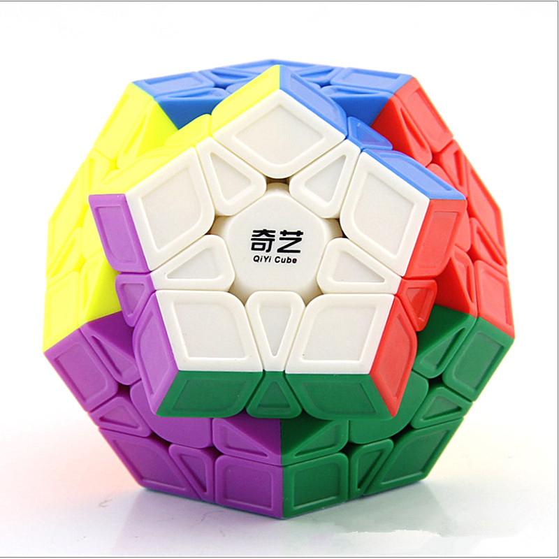 QIYI Qiheng S 3x3 Megaminxeds Magic Cube QIHENG S 12 Sides 3x3 Puzzle Magic Cubo QiYi 3x3 Megaminxeds Speed Cube