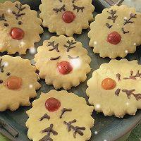 """#美食说出""""新年好""""#麋鹿苏打饼干&雪人巧克力奶的做法图解12"""