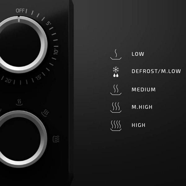 Microwave Cecotec ProClean 3040 Mirror 20 L 700W Black