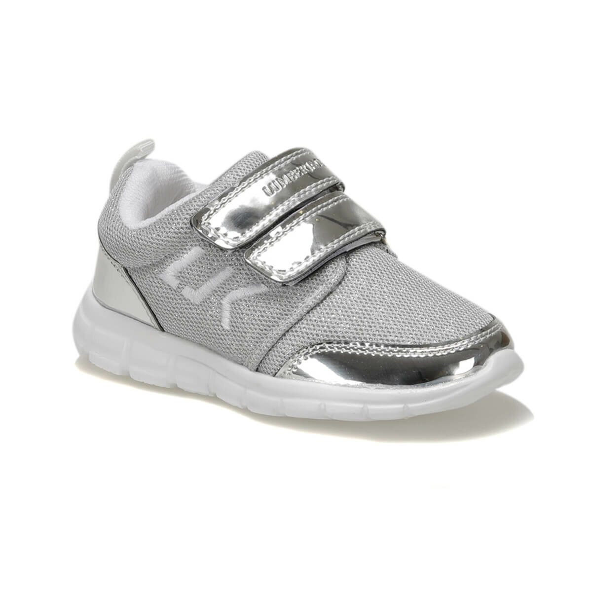 FLO SMASH Silver Female Child Sneaker Shoes LUMBERJACK