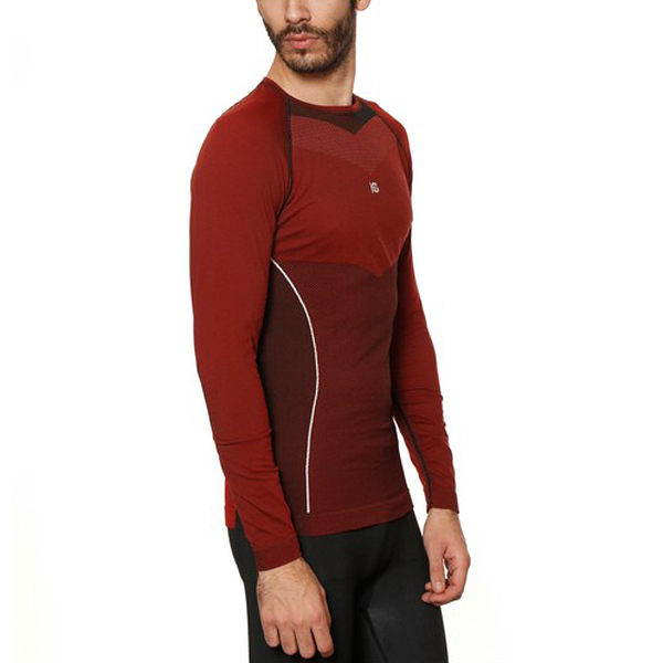 Men's Thermal T-shirt Sport Hg Hg-8030 Black Red