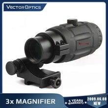 Ottica vettoriale Red Dot Scope lente d'ingrandimento 3x adatta a Maverick con Flip to Side QD Weaver Mount caccia mirino vista ottica