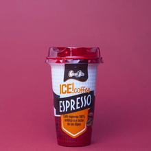 COOLIFE ESPRESSO coffee 100% Arabica with milk from the Alps. Cold coffee to carry and drink in the container. PACK of 10 units 230ml