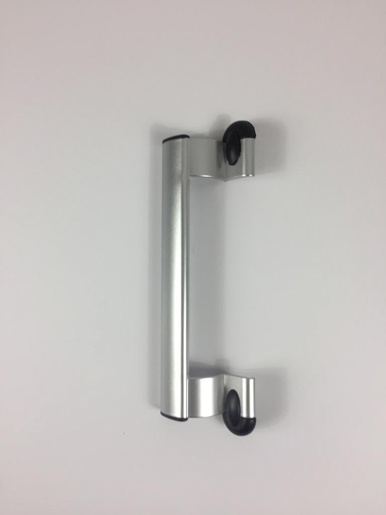 Door Handle Aluminum Color Metal. Length 23 Cm