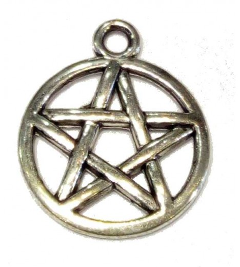 AMULET PENTAGRAM Peq. (5-point Star Circle)