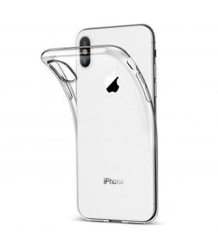 Funda de gel TPU carcasa silicona para movil Apple Iphone X TRANSPARENTE