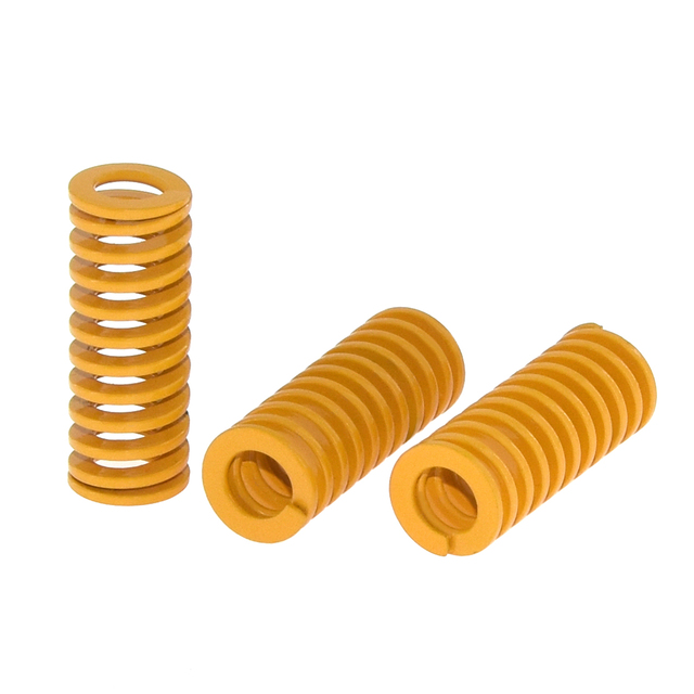 4pcs/10pcs 3D Printer Parts Spring Heated Bed 10*25MM Hot Plate 3D Printer Accessories Reprap Imported For Ender 3 Pro CR10 MK2A 3