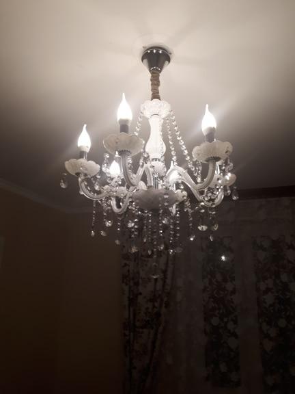 -- Lustres Cristal Luminária
