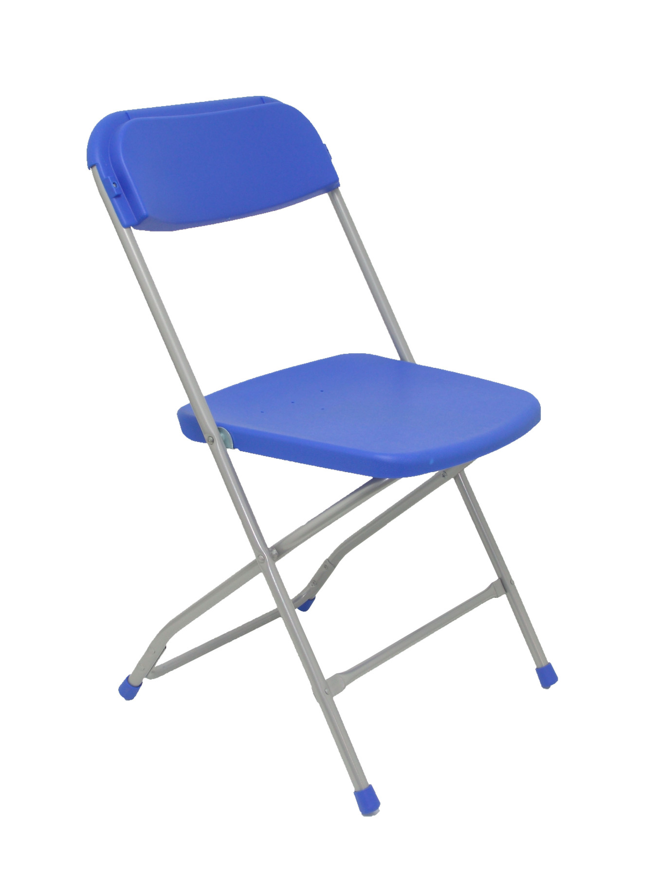 Pack 5 Folding Chairs Conference Up Seat And Backstop Polypropylene Capacitor's Color Blue TAPHOLE AND CURLED Model Nurseries