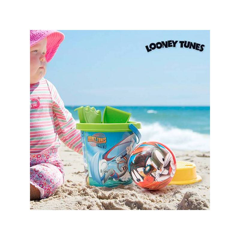 Beach Game With Ball Looney Tunes (5 Pcs)