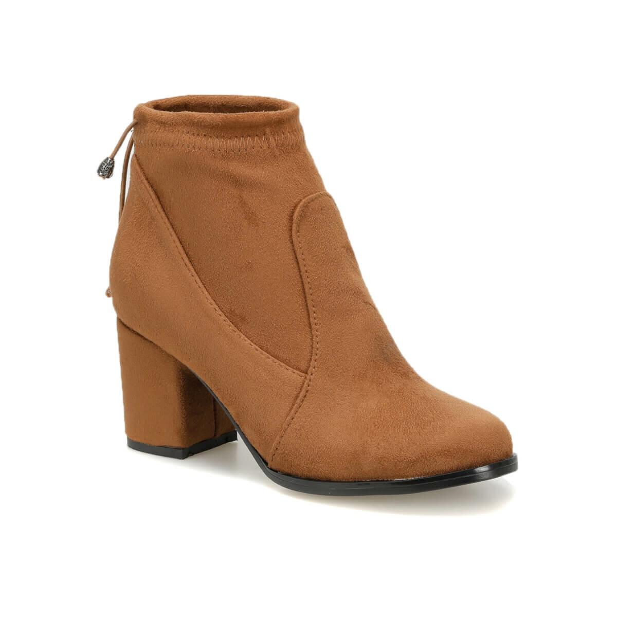 فلو فريديريك K17Z سويدي تان أحذية نسائية بوتيجو