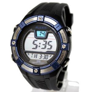 Image 5 - Moda esporte masculino relógios digitais resistente à água 3atm alexis marca homem data alarme backlight relógio digital dw381b