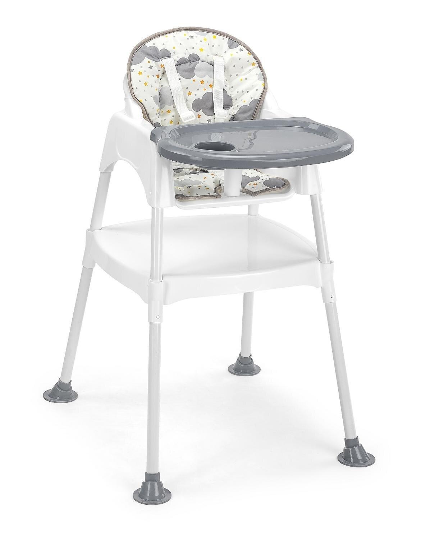 Tinycare-chaise de luxe 3 en 1 | Moderne, multifonctionnelle, siège d'alimentation, harnais, Table de jeu, bureau d'étude, avec coloré rembourré
