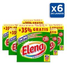 Стиральная машина Elena, моющее средство, формат порошка x6, до 210 ДОЗ
