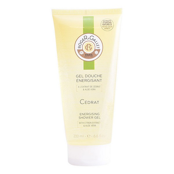 Shower Gel Cédrat Roger & Gallet (200 Ml)