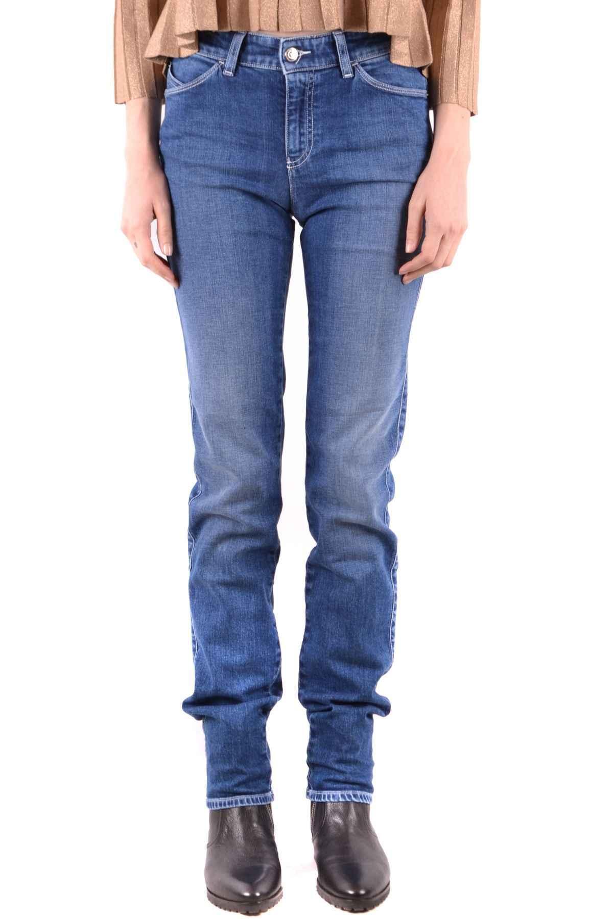 Emporio Armani Mujer Jeans Vaqueros Mujer Mcbi37534 Azul De Algodon Pantalones Vaqueros Aliexpress