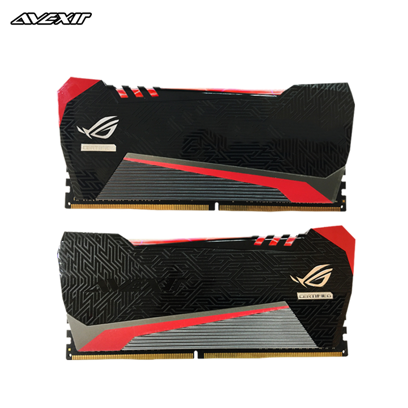 Avexir Red Tesla ddr4 ram 4GB 8GB 16GB 2666MHz 3000MHz 3200MHz for gaming desktop dimm with high performance Memory image