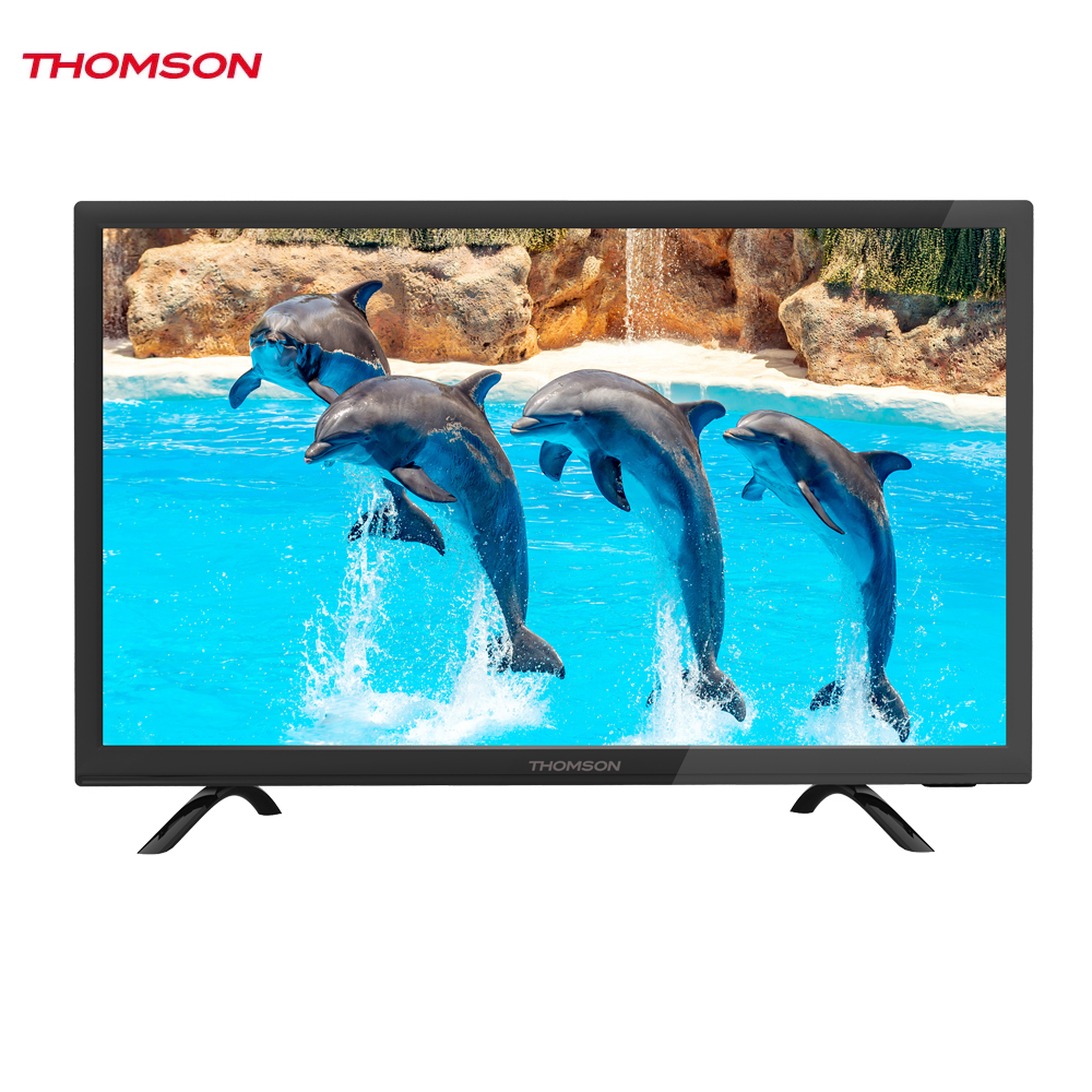 LED Television Thomson 1269801 smart tv for home dvb-t2 digital 22inch thomson t32d19dhs 01b t2 smart