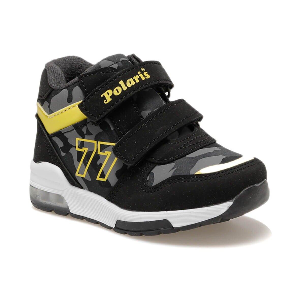 FLO 92.510542.B Black Male Child Sports Shoes Polaris