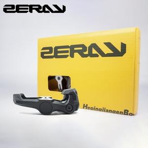 Image 4 - Педали для шоссейного велосипеда ZERAY, 30% углеродное волокно с бутсами, ZP 110, совместимы с самоблокирующимися подшипниками, Аксессуары для велосипеда
