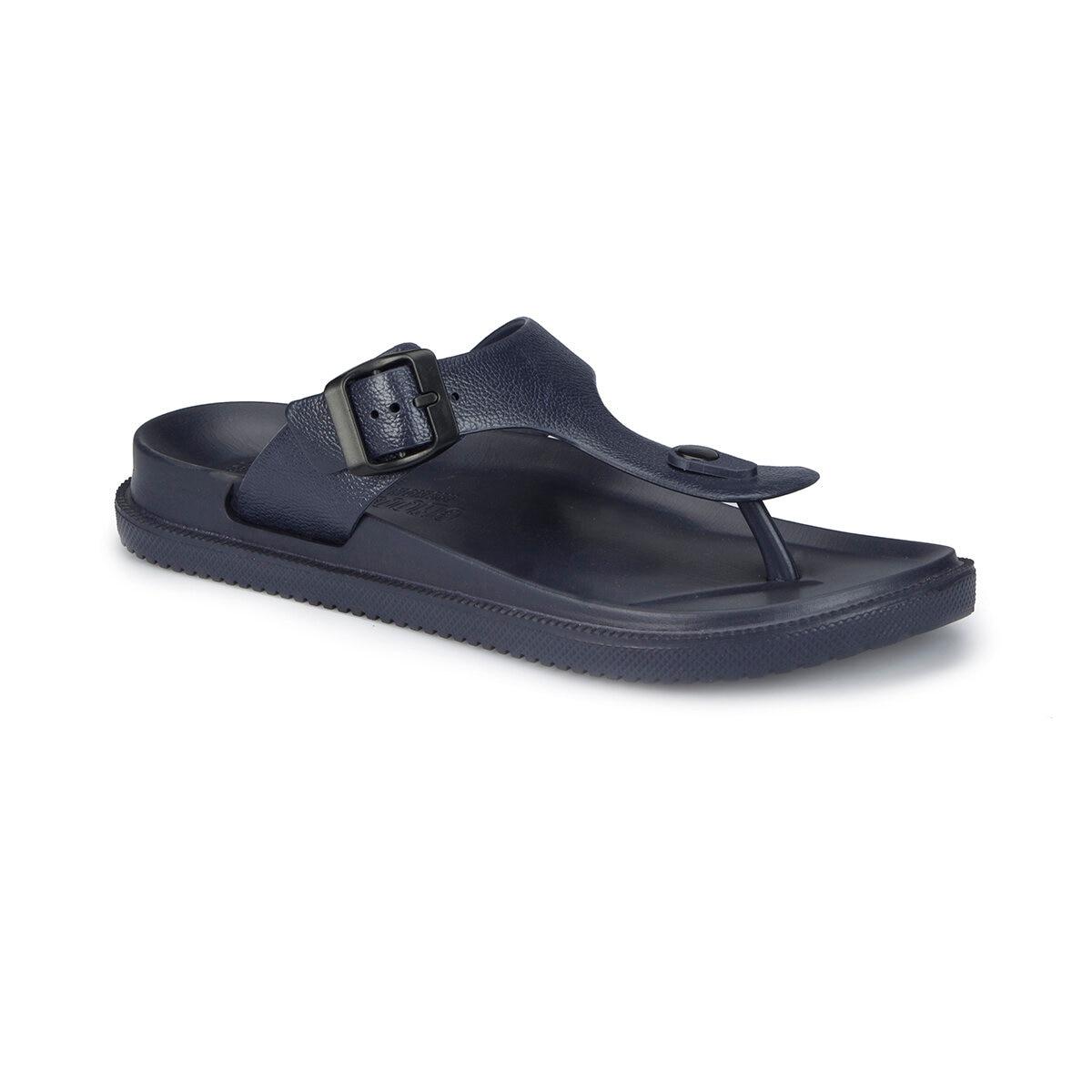 FLO 81.452167.M Navy Blue Male Slippers Polaris
