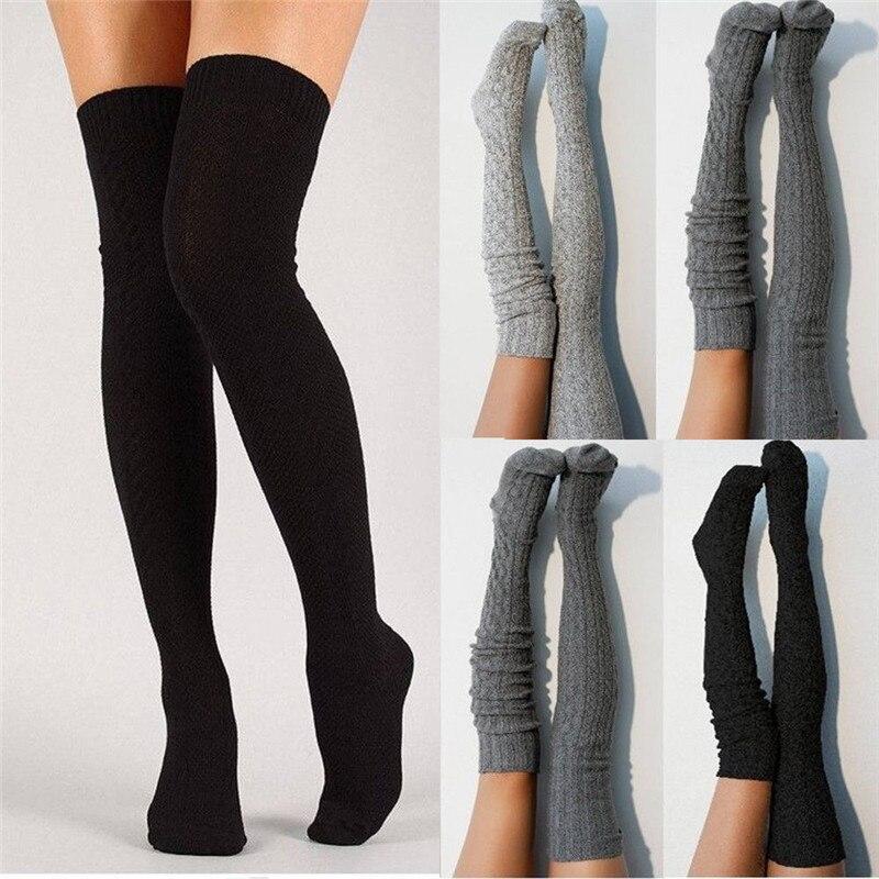 Knee high socks for winter - Fashion trendy shop